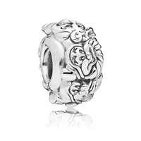 2018 NEW Snow White The Seven Dwarfs All Around Spacer Charm 925 Sterling Silver Charm Fit Original Pandora Bracelet DIY Jewelry