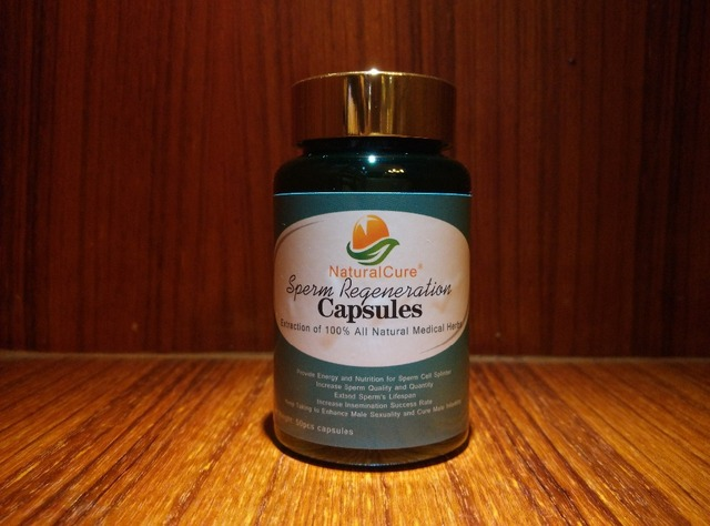 NaturalCure Nutrir Las Células de Esperma, mejorar la capacidad de sí-xual, curar La Infertilidad 50 unids/lote, ayuda de Esperma Astilla de Extracción de La Medicina
