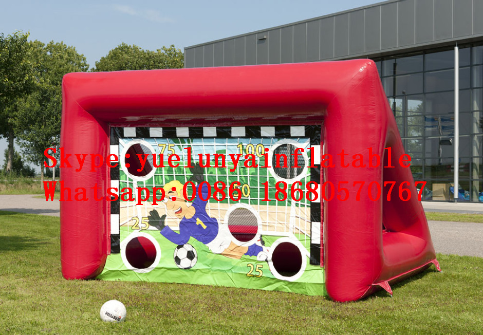 2016 new Factory direct Inflatable games, inflatable football stadium, inflatable football door KYG-50 ...