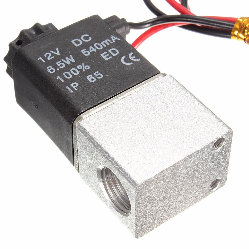 Бесплатная доставка 3 мм Расход отверстие 2V030-06 12 В DC 1/8 высокое качество электром ...