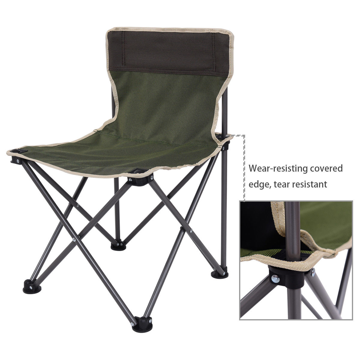 Giantex Portable Outdoor Folding Table Chairs Set Camping Beach ...