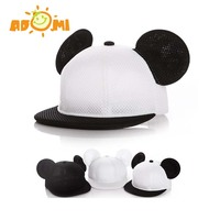 Fashion Child Baseball Cap Baby Boy Girl Hat Kid Cap Summer Mesh Sun Hat Cartoon Mickey