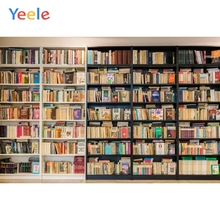 Yeele Library Book Self Students Reading Room Personalized Photography Backgrounds Photographic Backdrops Props For Photo Studio