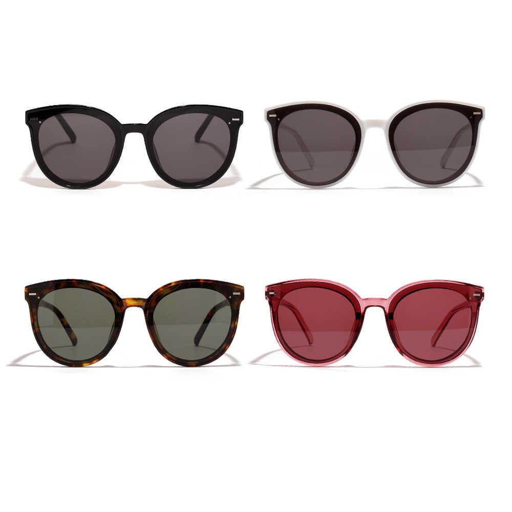 02fd20b28 ... Peekaboo korean style sunglasses men big frames leopard red rivet  unisex round sun glasses for women