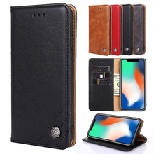 цены Luxury Flip Wallet Leather Slot Case For Huawei Honor 7 Lite 7A Russian Global version 7C 7C Pro 7X 7S V9 Play View 20 10 Cover