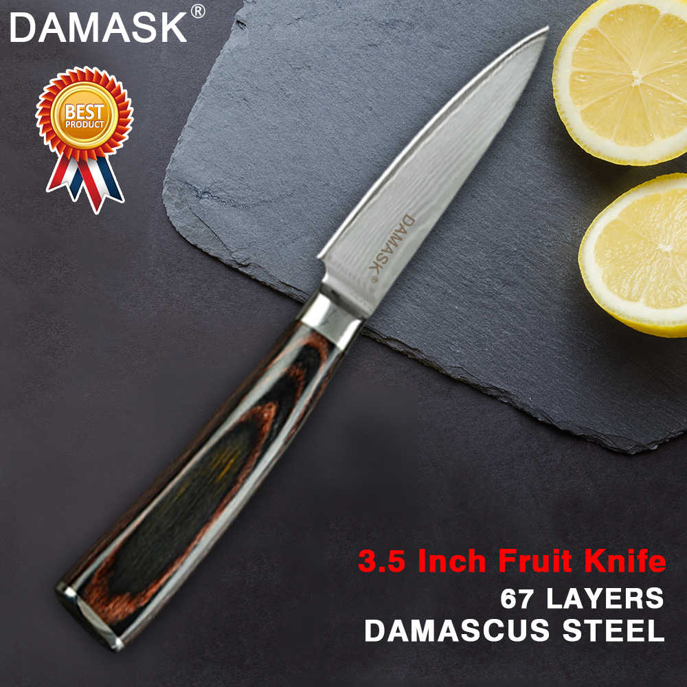 Damask High Grade Chef Knives Damascus Steel Kitchen Cleaver Japanese VG10 Damascus Steel Chef Knife Utral Sharp Kitchen Tools