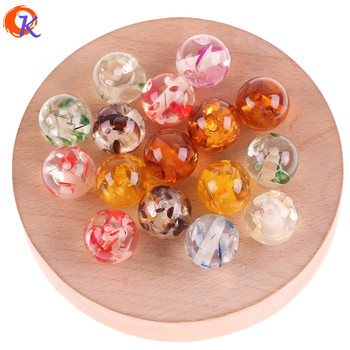 Cordial Design 16mm 100pcs Jewelry Accessories/Resin Beads/Imitation AmberEffect/Round Beads/DIY/Hand Made/Earring Findings image