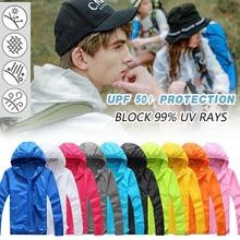 Дышащая футболка для рыбалки, переносная, UPF 50+, Солнцезащитная рубашка с кепкой для мужчин, женщин, мальчиков, детей, цена, разные цвета