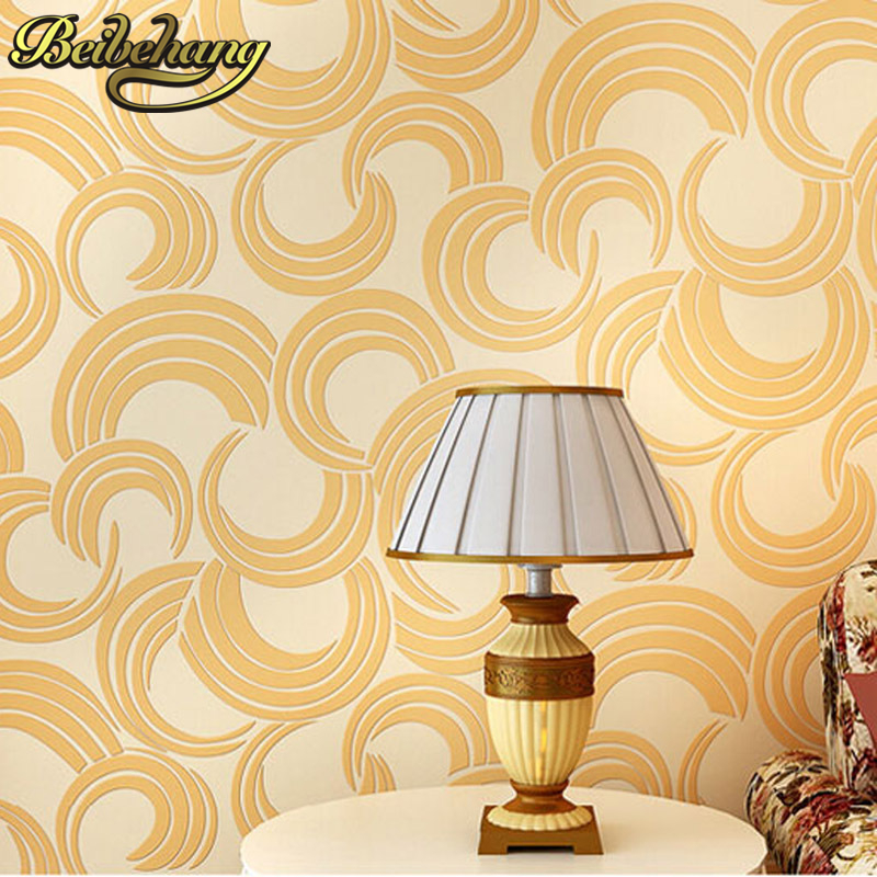 beibehang papel parede 3D Simple Elegant Papier Peint Abstract Circle Wallpaper 3D Papel de Parede Eco Non-woven TV Wall Paper 4 customize wallpaper papel de parede star dimensional abstract painting abstract tree pachira 3d wallpaper free shipping4542