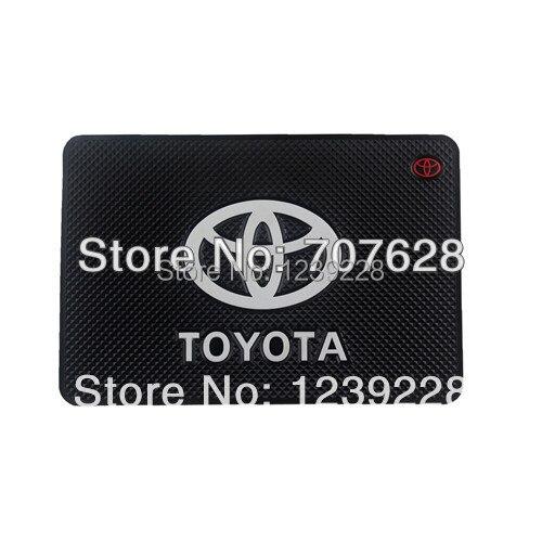 Toyota Car Logo Non Slip Mat Car Dashboard Phone Mat Anti