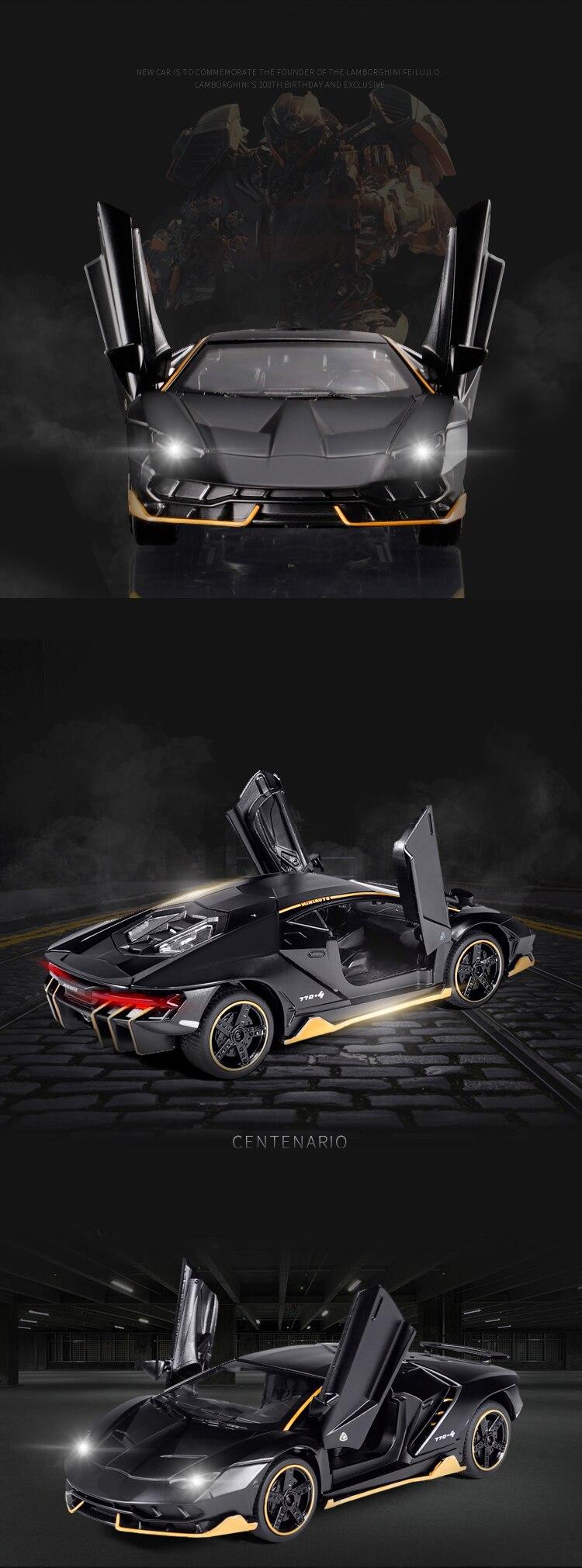 Centenario LP700-4 High Quality Model Toy Car 15.5x6.5x4.3 cm 36