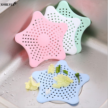 XHRLYLB New Starfish Silicone Floor Drain Kitchen Sink Anti-clogging Bathroom Filter Home Decoration Accessories.7z