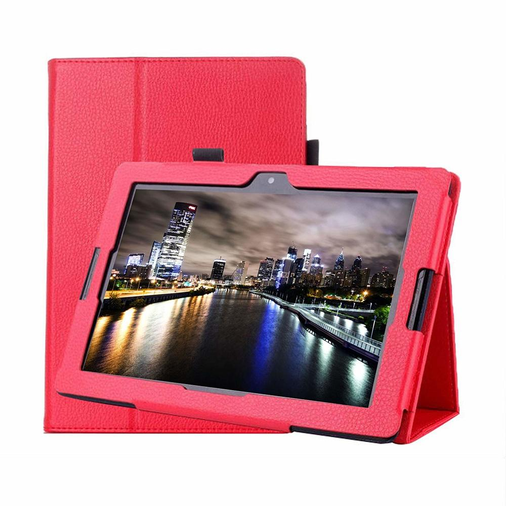 Luxus Fall für Lenovo A7600 Tablet Abdeckung funda Capa Flip PU Leder Smart Zurück Abdeckung für Lenovo Tab A10-70F A7600 10,1 Fall