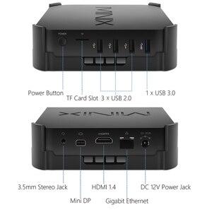 Image 3 - MINIX NEO Z83   4U Intel Atom X5 Z8350 Ubuntu Mini PC 4GB/64GB HDMI+MINI DP Dual Band WiFi Gigabit LAN Bluetoot Portable MINI PC