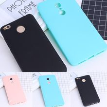Case For Xiaomi mi Max2 Redmi 4X 4A Note4X Ultrathin Simple Solid Color Soft Cases For Redmi 4PRO Note 4 Cover Capa Shell(China)