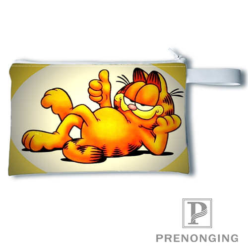 Custom Garfield(2)@1Printing Coin Purse Change Purse Zipper Zero Wallet Phone Key Bags Fashion Small Female Purse#19-01-22-4-208
