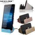 Voxlink usb 3.1 tipo c estación de carga del muelle de escritorio para nexus 5x6 p nota 7 xiaomi 5 tipo-c teléfono sync base de carga titular