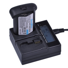 1pc 3200mAH LP E4 LP E4 LP E4N Camera Battery LCD Quick Charger for Canon EOS