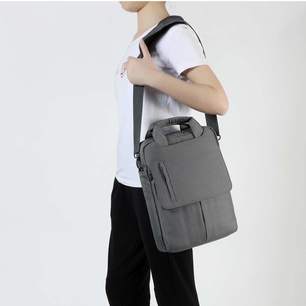 "YIFANGZHE Laptop Messenger Bag, sac Premium Crossbody 13.3 ""12.9"" bărbați Tablet PC Notebook laptop impermeabil pungi de umăr"