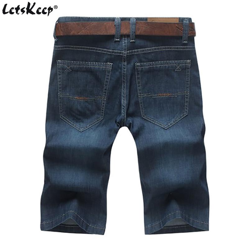 LetsKeep baggy jeans hlače za moške poletne priložnostne - Moška oblačila - Fotografija 2
