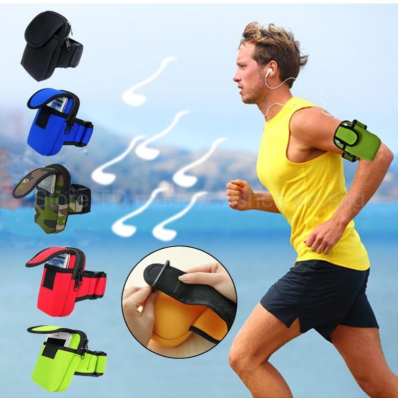 Sports Outdoor Arm Wrist Bag Case <font><b>for</b></font> Huawei p10/p8/p9/lite/honor 4c/8/7/Letv 1s/Umi z/super/Oneplus 3/3t/Smartphone/<font><b>Cell</b></font> <font><b>phone</b></font>