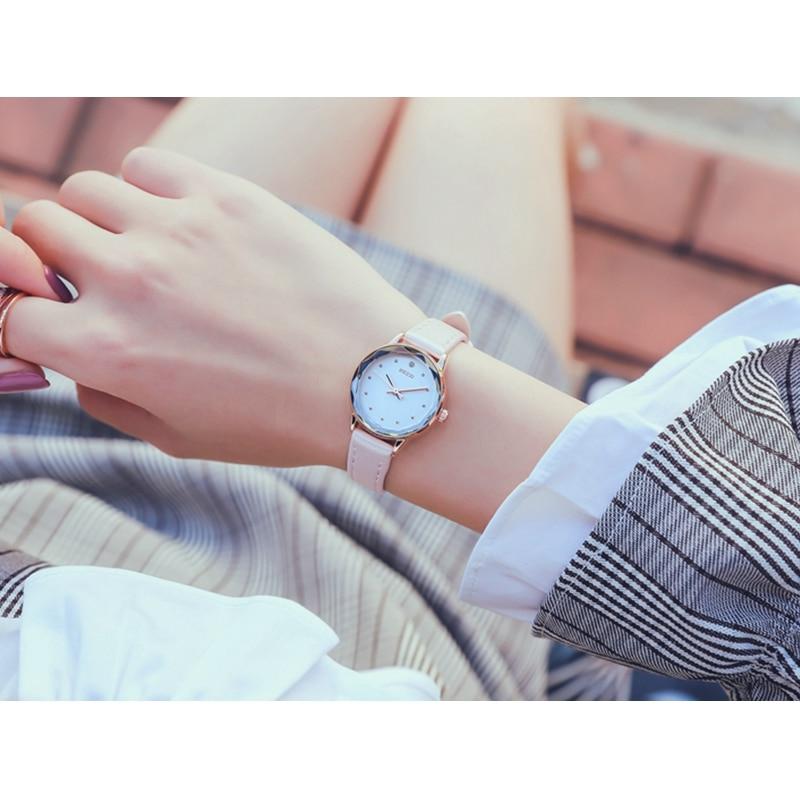 KEZZI montre femme Mały zegarek Moda Diamentowy zegar kobiet zegarki - Zegarki damskie - Zdjęcie 4