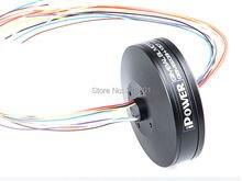 Iflight iPower карданный безщеточный GBM6208H-150T полый вал w / контактными кольцами для FPV