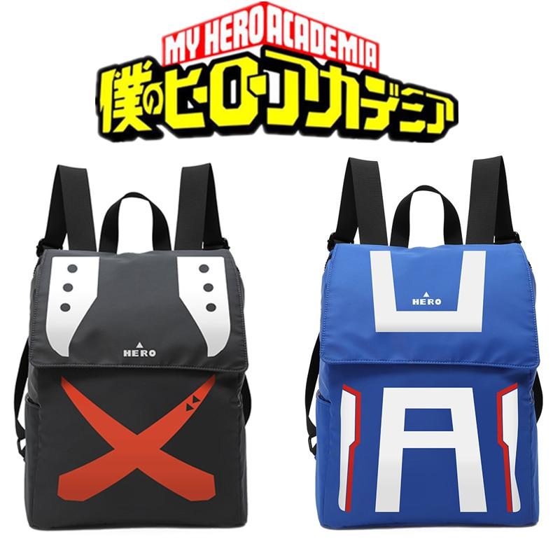 Мой герой Академии косплэй реквизит рюкзаки Bakugo Katsuki школьный рюкзак для путешествий ноутбук сумка для женщин мужчин Хэллоуин подарки
