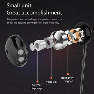 Image 2 - Simvict M31 In Ear Wired Earphone Headphone Hifi Stereo Earbuds Super Bass Headset With Mic For Mobile Phones Iphone Samsung S8