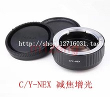 cy c/y Contax Yashica lens to E mount Focal Reducer Speed Booster adapter for sony A7 A7s a7r2 a5000 A6000 a63000 nex7 camera(China)