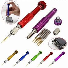 5 in 1 Precision Torx Screwdriver Magnet Set Cellphone Watch Repair Tool Kit