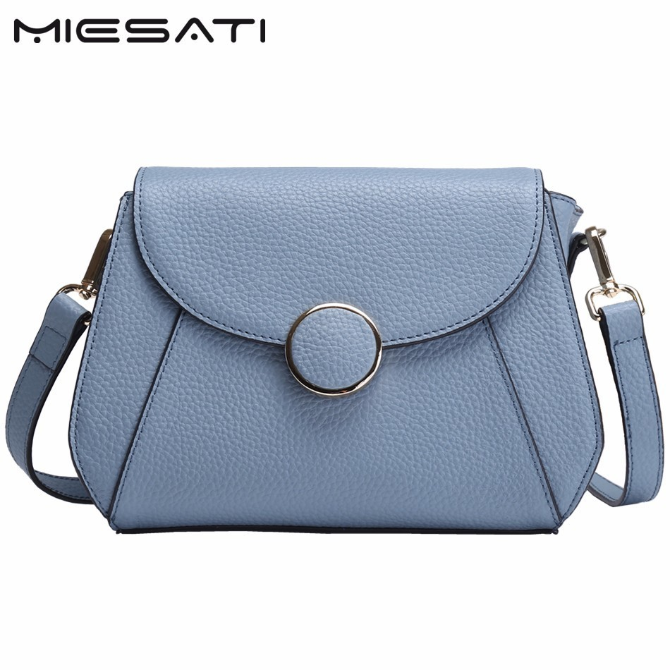 MIESATI Crossbody Bags For Women Genuine Leather Woman Leather Saddle Bag High Quality Women Messenger Bags Lady Casual Bags sa212 saddle bag motorcycle side bag helmet bag free shippingkorea japan e ems