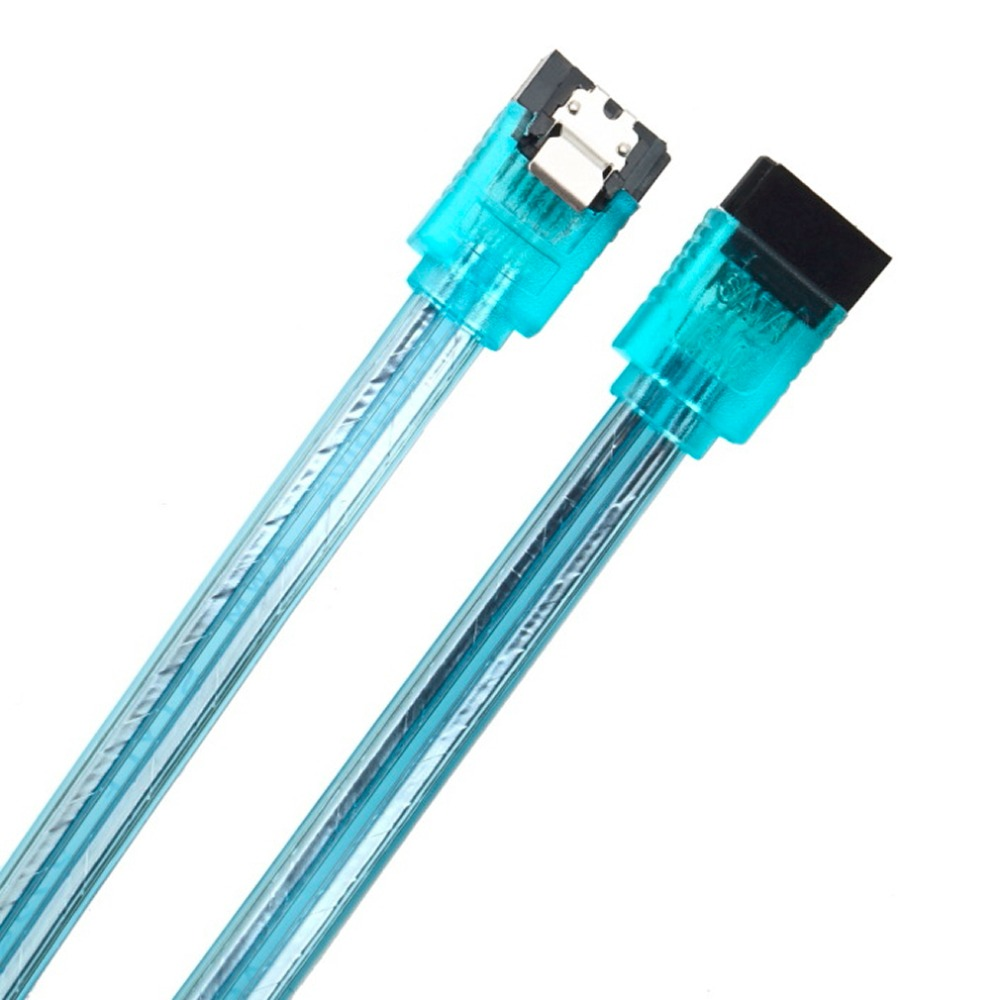1 pcs PC Drive High Speed 20in 50CM SATA 3.0 III High Speed HDD Data Cable Cord C1 Newest Drop Shipping Wholesale