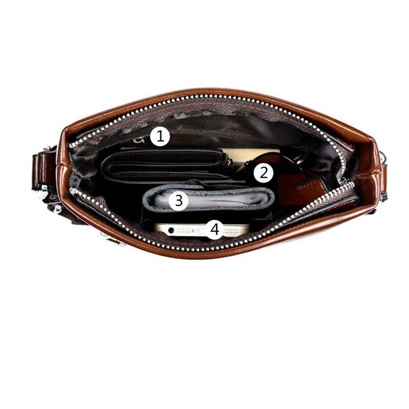 couro lazer bolsa de negócios Cross Size : 22*19*4cm
