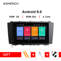 AutoRadio 2 Din Android 9.0 Car DVD Player For Mercedes BenzC Classs CLC W203 2004 2007 C200 C230 C240 C320 C350 CLK W209 GPS 4G