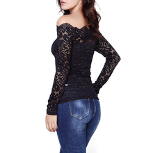 Floral Lace Off Shoulder Blouses Set