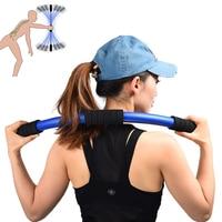Women Yoga Pole Gym Home Flexi Vibrating Relax Balance Training Sticks Postpartum Recovery Slimming Weight Loss Elastic Rod