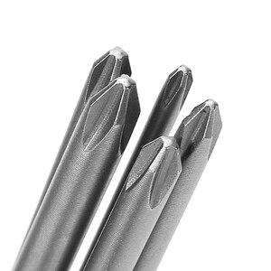5 шт., Электрическая отвертка с магнитной перекрестной головкой PH1 PH2 1/4 ''150 мм длиной S2 L15