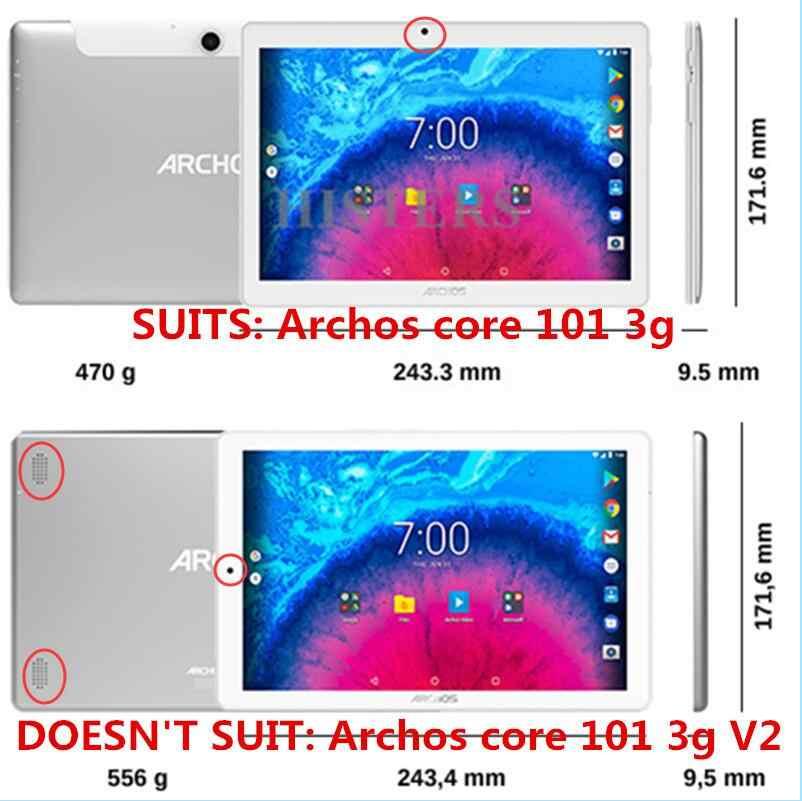 شحن طبقة رقيقة واقية لأركوس النواة 101 3G/4G 10.1 بوصة اللوحي بو الجلود حامل قابل للطي غطاء حالة