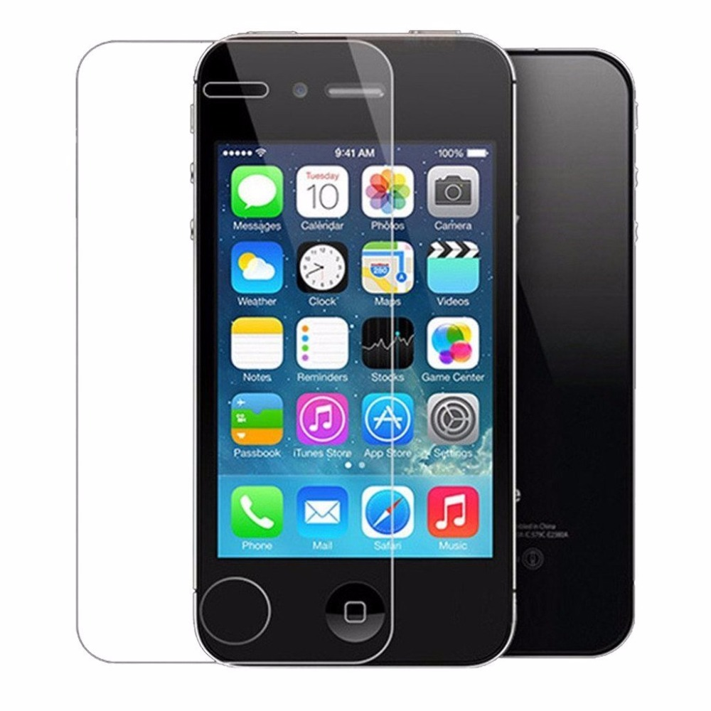 2Pcs/Lot 9H 0.26mm 2.5D Premium Tempered Glass For iPhone