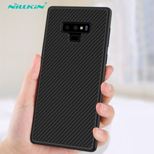 Case for Samsung Galaxy Note 8 9 10 Plus Note9 Nillkin Synthetic Fiber Carbon PP Plastic Back Cover For Samsung Note 9 Case