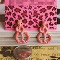 Xq frete grátis 2015 bj new red snake brincos das mulheres brincos partido presentes para as meninas