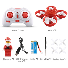 JJRC H67 Flying Santa Claus RC Quadcopter Drone With Chrismas Song Inside Block Brick Headless Mode