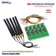 Акция! Заводские розетки 5 шт./лот беспроводной DMX 512 контроллер передатчик и приемник 2 в 1 PCB модуль для DMX сценическое освещение