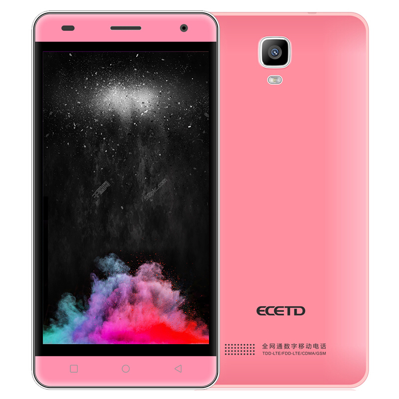 Smartphone ECETD ET600 chinese cell phone light weight 4G LTE 500W camera 2600mAh large battery with