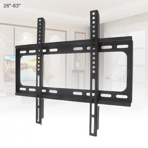 Image 1 - Universal 45KG 26 63 Inch Fixed  type TV Wall Mount Bracket Flat Panel TV Frame with Level for LCD LED Monitor Flat Panel