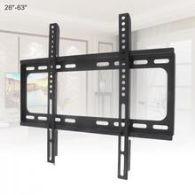 Universal 45KG 26 63 pulgadas fijo tipo TV soporte de montaje en pared Marco de TV de Panel plano con nivel para Monitor LCD LED Panel plano