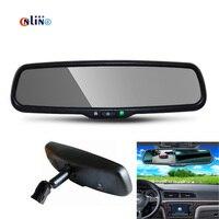 Special Bracket HD 800*480 4.3 Inch TFT LCD Digital Screen Car Parking Windscreen Rear View Rearview Mirror Monitor Video Player