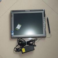 Для Benz mb star c4 программного обеспечения ssd v2018.07 в автомобиле диагностики ноутбука LE1700 Tablet PC (прочный, сенсорный экран)