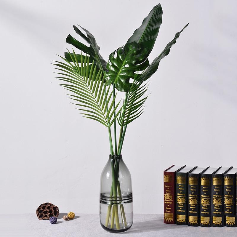 1 шт. искусственные черно-белые ветви деревьев пластик Коралл искусственные цветы для дома свадебные декоративные сушеные ветви деревьев H90CM